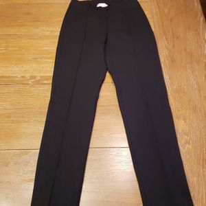 LILLY PULITZER black ponte seamed pants